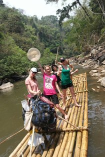 River rafting!