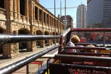 Open top bus tour!