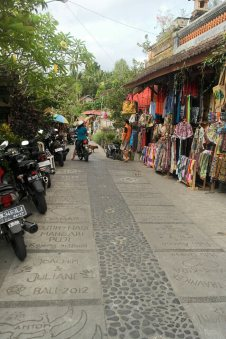 Typical Ubud Street