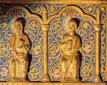2 apostles receiving the Holy Spirit