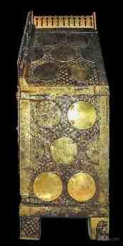 Engraved angel medallions