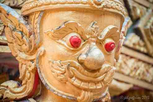 Buddist Temple Guardian