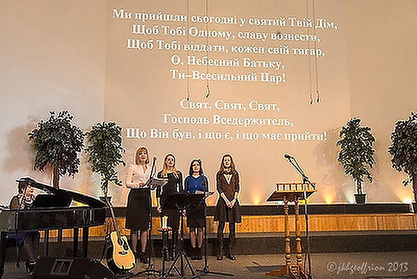 Worship, Sunday morning