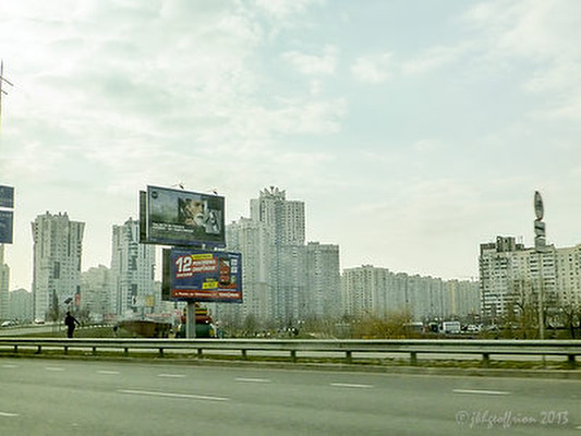 Kiev from highway