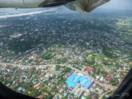 Yangon From the Air