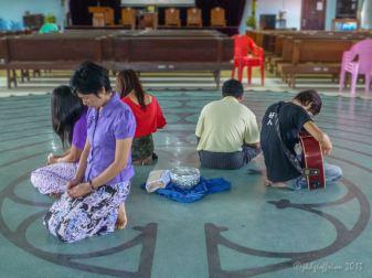 Playing and praying