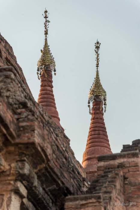 Stupa tops