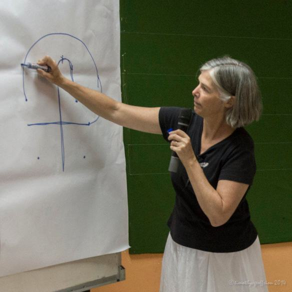Explaining the construction of labyrinths