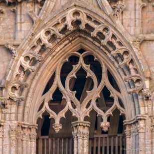Detail, north tower