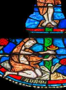 """Adam collecting the blood of Jesus, The """"Second Adam"""""""