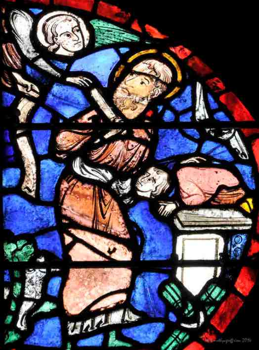 God providing a sacrifice for Abraham (in the place of Isaac--see Genesis 22)