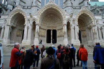 Group pilgrimage to Chartres