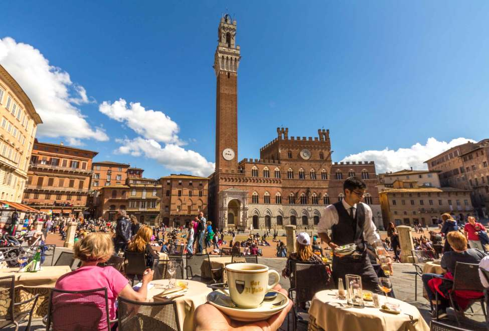 Coffee Time, Siena