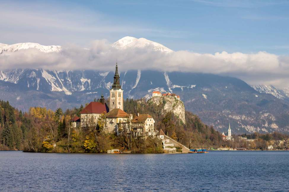 Wonderful Bled lake