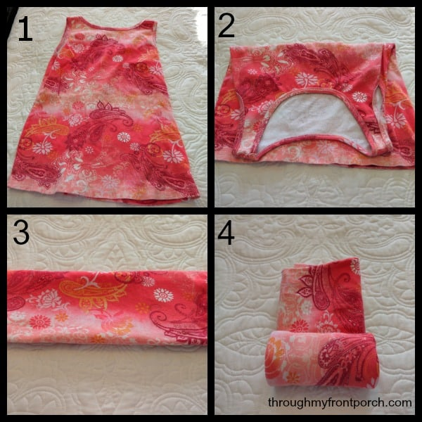 Tank Top Folding Tutorial