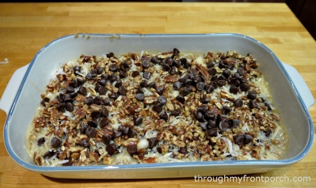 Magic Bars Fresh From The Oven