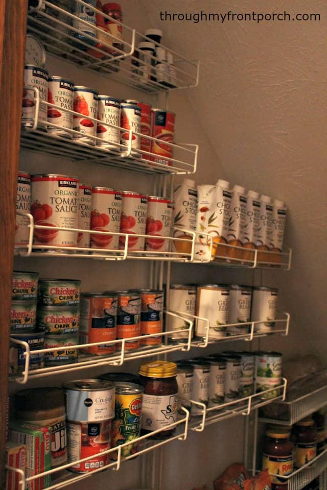 My Pantry Makeover Reveal
