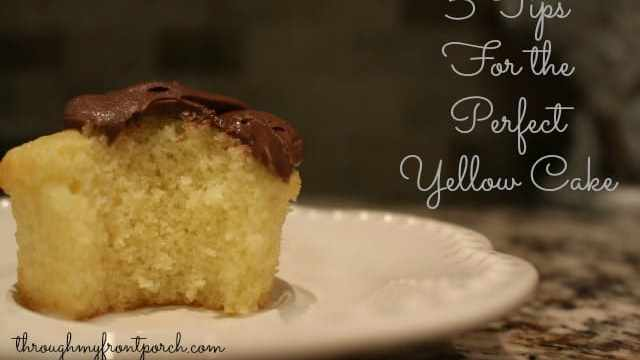 5 Simple Tips For The Perfect Yellow Cake