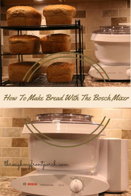 How To Make Bread With The Bosch Mixer