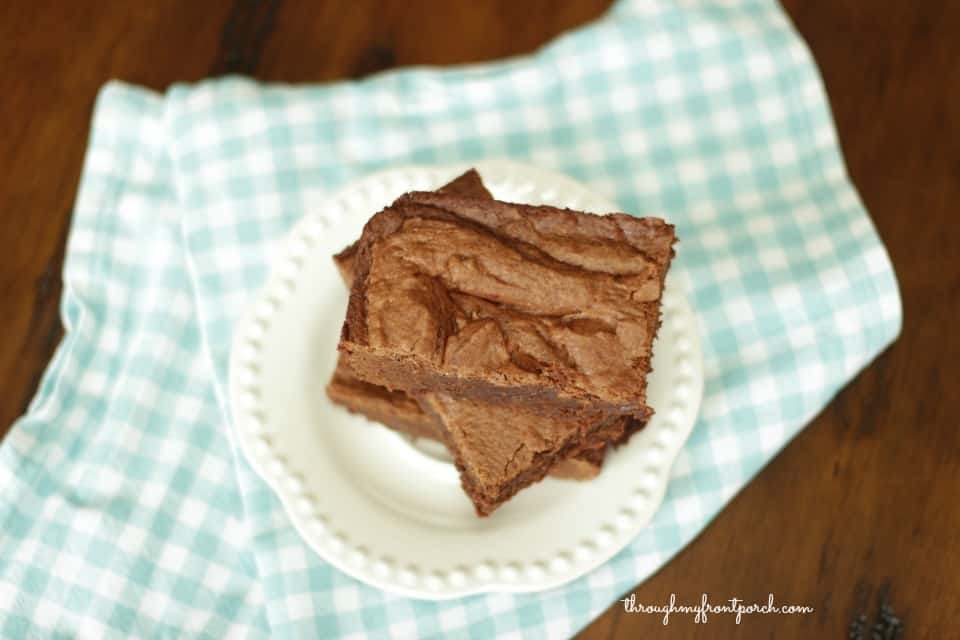 My Very Best Fudgie Brownie Recipe