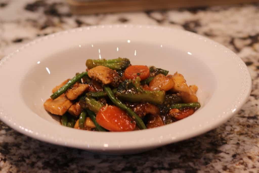 30 Minute Teriyaki Chicken Stir Fry