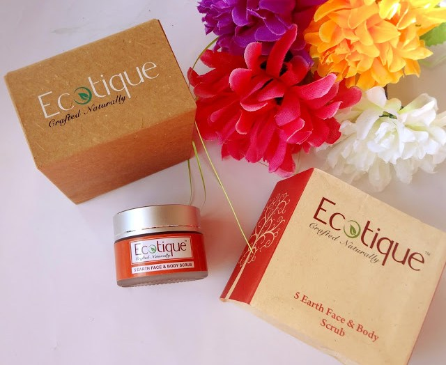 Ecotique 5 Earth Face and Body Scrub