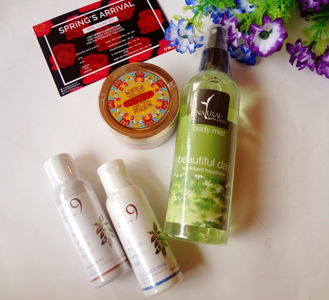 April GlamEgo box Unboxing and Review