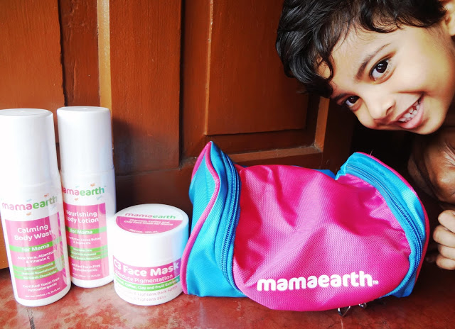 mamaearth mama range products