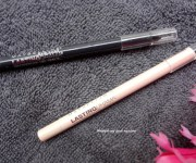 Maybelline Lasting Drama Waterproof Gel Pencil in Smooth Charcoal and Soft Nude : Review and Swatch