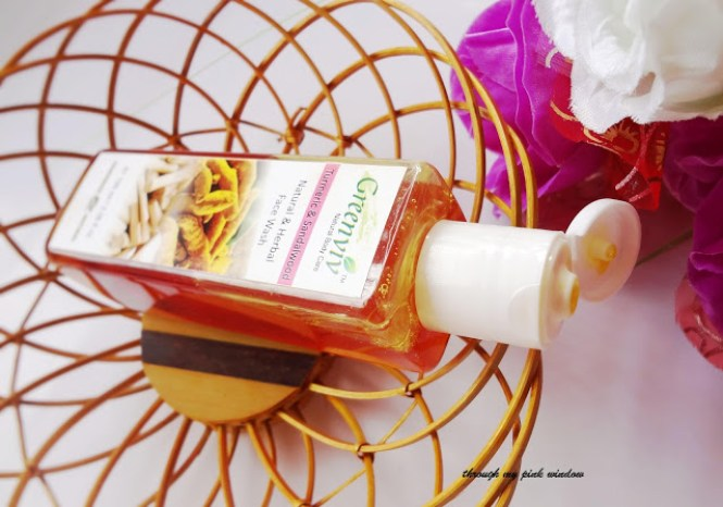 Review of Greenviv Turmeric and Sandalwood Natural & Herbal  Face Wash