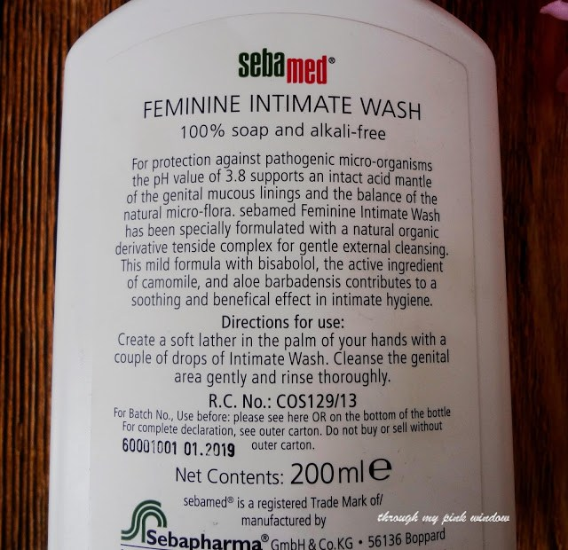 Review of Sebamed Feminine Intimate wash (Sensitive)