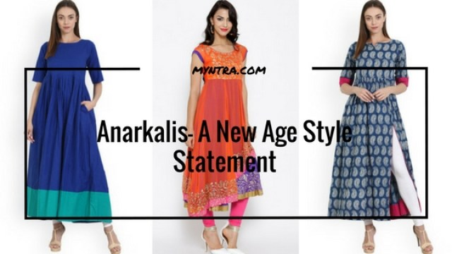 Anarkali- A New Age Style Statement | Ft. Myntra.com