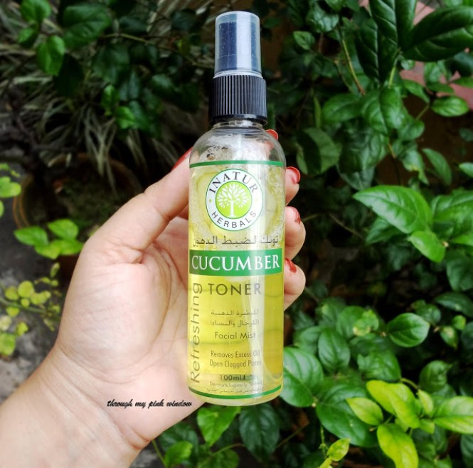 Review of Inatur Herbals Refreshing Cucumber Toner