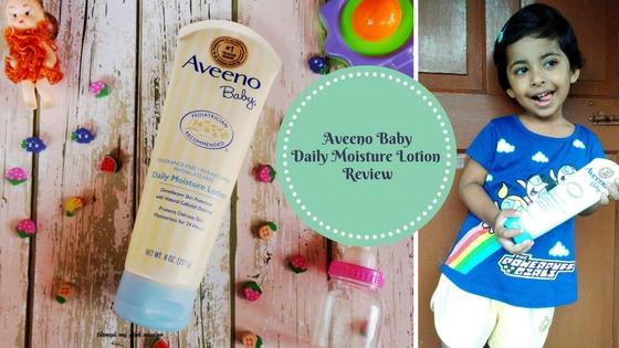 My Baby's Skin loving Aveeno Baby Daily Moisture Lotion | Aveeno Baby Daily Moisture Lotion: Review