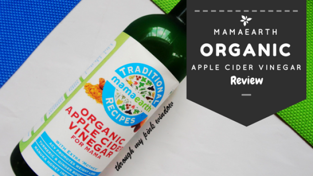 Mamaearth Organic Raw Apple Cinder Vinegar for mama : Review
