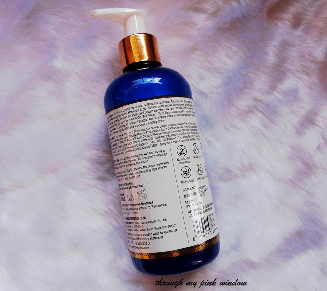 St. Botanica Moroccan Argan Oil Shampoo : Review