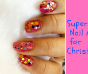 Super Easy Nail Art for Christmas | Christmas Blog Train