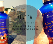 St. Botanica Coconut and Bamboo Straightening Shampoo : Review