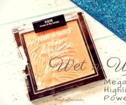 Wet n Wild Megaglo Highlighting Power in Crown of My Canopy Review, Swatch and MOTD