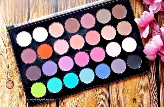 Bhcosmetics Modern Mattes 28 Colors Eyeshadow Palette Review and Swatches