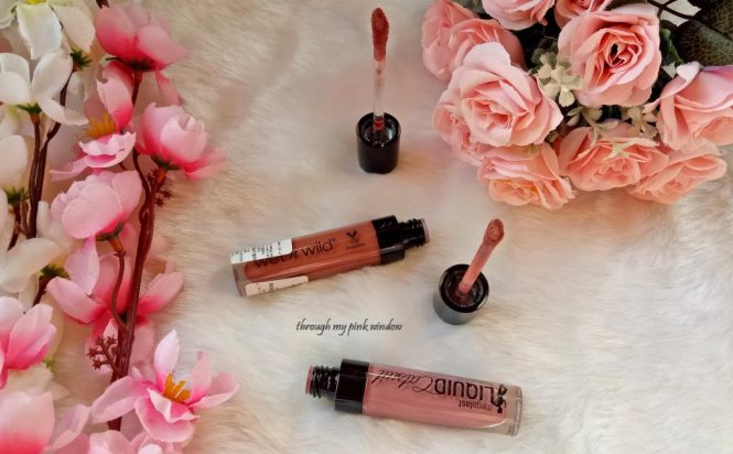 Wet N Wild MegaLast Catsuit Matte Lipsticks in Rebel Rose and Give Me Mocha Review, Swatches