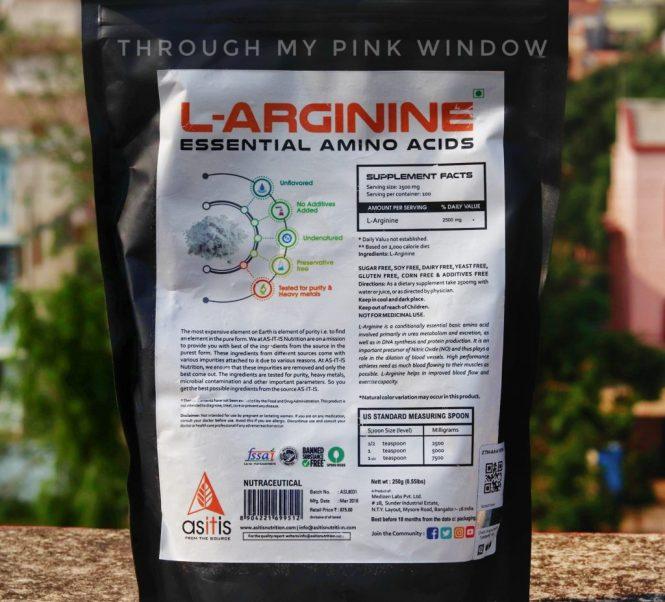 AS-IT-IS Nutrition L-Arginine Powder for Muscle Building & Endurance Review