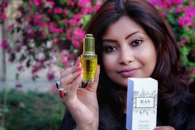 Ras Rose Nectar Face & body Mist and Luminous skin clearing face elixir