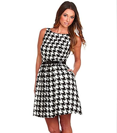 Everything You Need to Know About houndstooth Dress