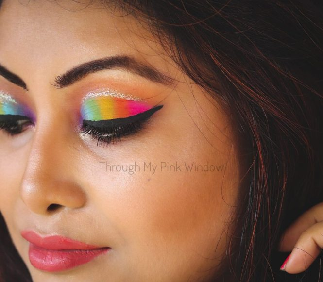 Rainbow Eyes Makeup Tutorial | Monsoon Makeup Look