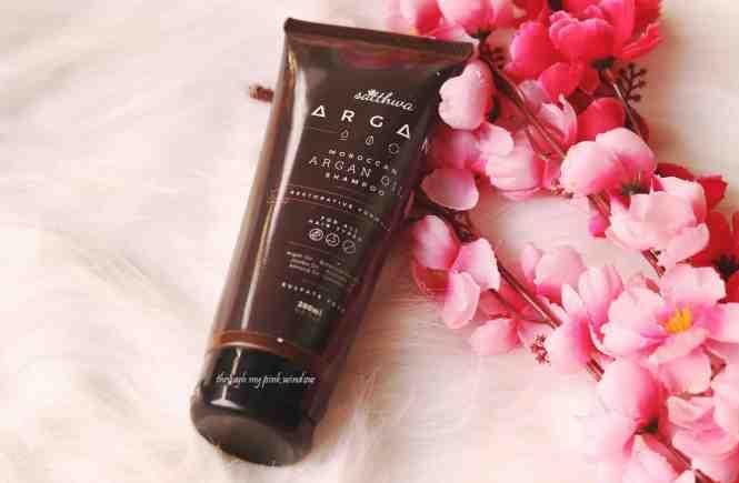Sattwa Moroccan Argan Oil Shampoo Review