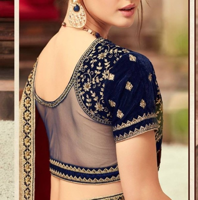 9 Ways To Style Your Saree With A Backless Blouse