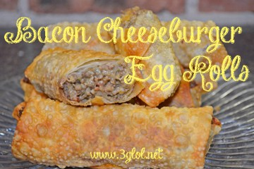 #eggrolls #cheeseburger #fingerfood #appetizer