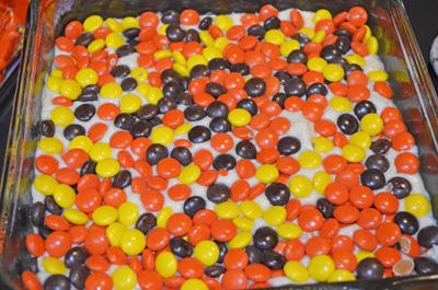 #fudge #whitechocolate #reesespieces