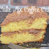 Cake Mix Coffee Cake #coffeecake #cake #dessert